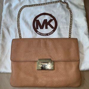 Authentic Michael Kors Tan Shoulder Bag